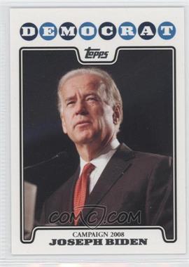 2008 Topps - Campaign 2008 #C08-JB - Joseph Biden