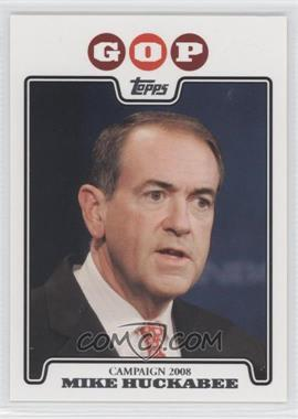 2008 Topps - Campaign 2008 #C08-MH - Mike Huckabee