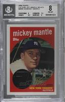 Mickey Mantle [BGS 8 NM‑MT]