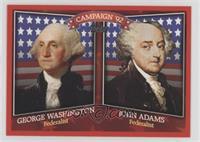 George Washington, John Adams