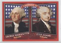 George Washington, John Adams