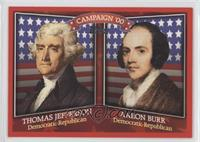Thomas Jefferson, Aaron Burr