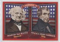 Martin Van Buren, William Henry Harrison