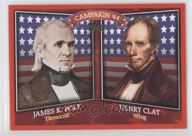 2008 Topps - Historical Campaign Match-Ups #HCM-1844 - James K Polk, Henry Clay