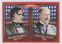Franklin Pierce, Winfield Scott