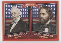 James Buchanan, John C. Fremont