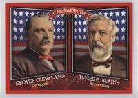Grover Cleveland, James G. Blaine