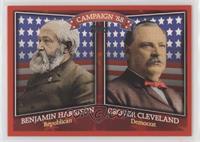 Benjamin Harrison, Grover Cleveland