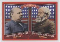 Grover Cleveland, Benjamin Harrison
