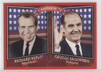 Richard Nixon, George McGovern
