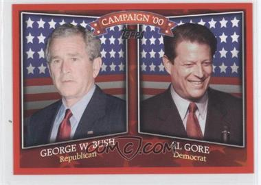 2008 Topps - Historical Campaign Match-Ups #HCM-2000 - George W. Bush, Al Gore