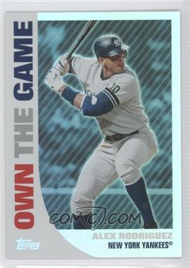 2008 Topps - Own the Game #OTG1 - Alex Rodriguez