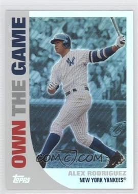 2008 Topps - Own the Game #OTG11 - Alex Rodriguez