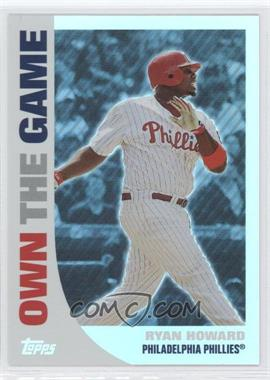 2008 Topps - Own the Game #OTG14 - Ryan Howard
