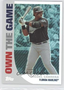 2008 Topps - Own the Game #OTG18 - Miguel Cabrera