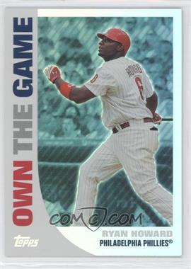2008 Topps - Own the Game #OTG3 - Ryan Howard