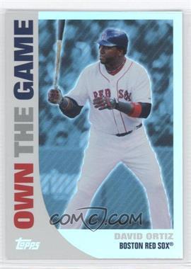 2008 Topps - Own the Game #OTG7 - David Ortiz