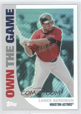 2008 Topps - Own the Game #OTG9 - Lance Berkman