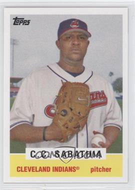 2008 Topps - Trading Card History #TCH46 - CC Sabathia