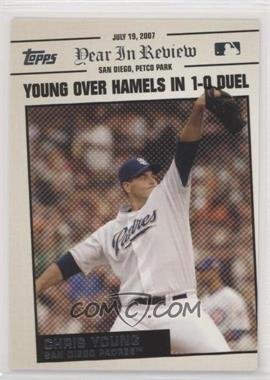 2008 Topps - Year in Review #YR109 - Chris Young