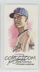 2008 Topps Allen & Ginter's - [Base] - Mini Allen & Ginter Back #237 - Zack Greinke