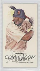 2008 Topps Allen & Ginter's - [Base] - Minis Rip Card High Numbers #357 - David Ortiz