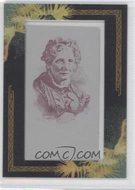 2008 Topps Allen & Ginter's - [Base] - Printing Plate Mini Magenta Framed #313 - Harriet Beecher Stowe /1