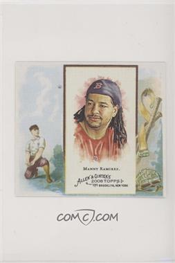 2008 Topps Allen & Ginter's - Box Loader N43 #N43-MR - Manny Ramirez