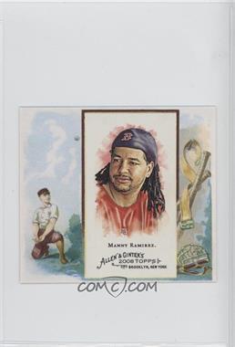 2008 Topps Allen & Ginter's - Box Loader N43 #N43-MR - Manny Ramirez