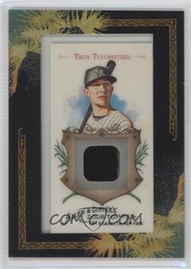 2008 Topps Allen & Ginter's - Framed Mini Relics #AGR-TT - Troy Tulowitzki