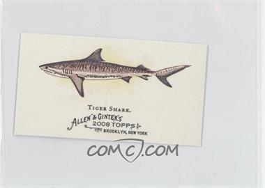 2008 Topps Allen & Ginter's - The World's Deadliest Sharks Mini #WDS2 - Tiger Shark