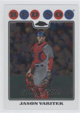 2008 Topps Chrome - [Base] #36 - Jason Varitek