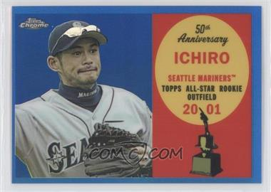 2008 Topps Chrome - Topps All-Rookie Team - Blue Refractor #ARC11 - Ichiro Suzuki /200