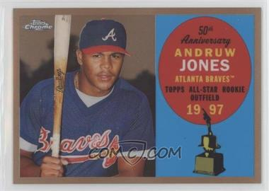 2008 Topps Chrome - Topps All-Rookie Team - Copper Refractor #ARC7 - Andruw Jones /100