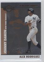 Alex Rodriguez, Johnny Damon /300