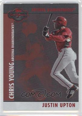 2008 Topps Co-Signers - [Base] - Silver Red #059.2 - Justin Upton, Chris Young /400