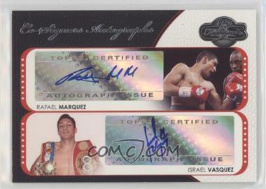 2008 Topps Co-Signers - Co-Signers Autographs #CS-MV - Rafael Marquez, Israel Vasquez