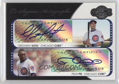 2008 Topps Co-Signers - Co-Signers Autographs #CS-SP - Geovany Soto, Felix Pie