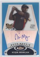 Rookie Autograph - Nyjer Morgan #/399
