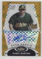 Rookie Autograph - Daric Barton #/25