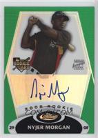 Rookie Autograph - Nyjer Morgan #/199