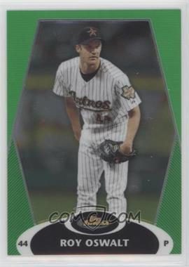 2008 Topps Finest - [Base] - Green Refractor #19 - Roy Oswalt /199