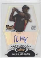 Rookie Autograph - Nyjer Morgan #/499