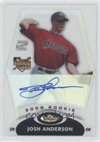Rookie Autograph - Josh Anderson #/499