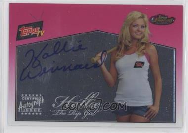 2008 Topps Finest - Topps TV Autographs #FA-RGH - Hollie Winnard