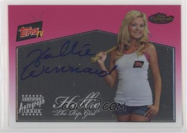 2008 Topps Finest - Topps TV Autographs #FA-RGH - Hollie Winnard