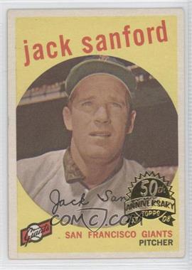 2008 Topps Heritage - 1959 Topps Buybacks #275.2 - Jack Sanford (Gray Back)