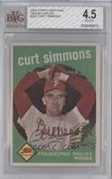 Curt Simmons [BVG4.5VG‑EX+]