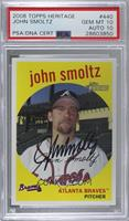 John Smoltz (Base) [PSA/DNA Certified Encased]