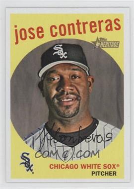 2008 Topps Heritage - [Base] #475 - Jose Contreras